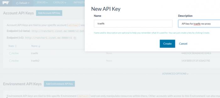Rancher-API-key
